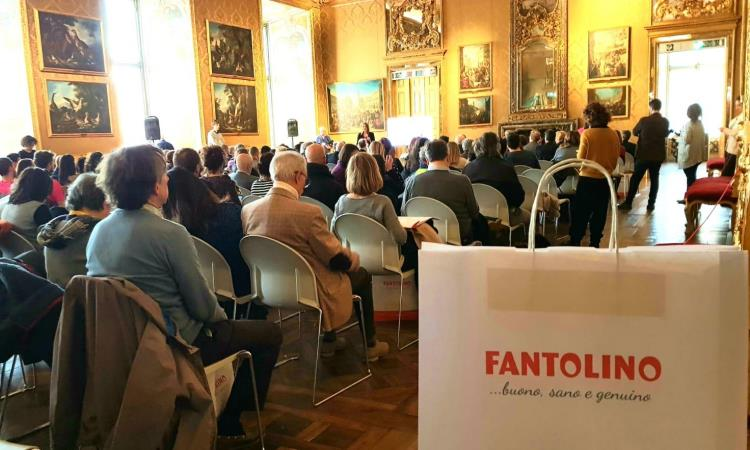 Fantolino a Palazzo Madama per la Just The Woman I Am 2020